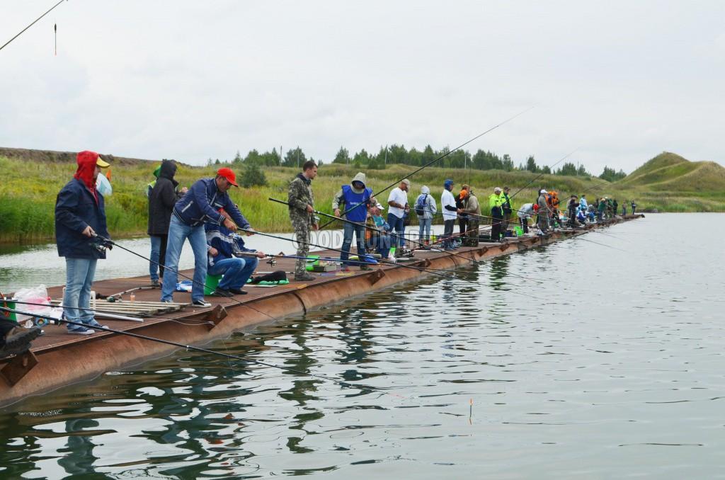 ловля рыбы на городце