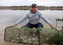 Густера – стайная рыба, ловля густеры